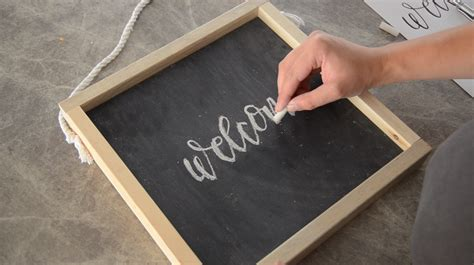 diy chalkboard print remodelaholic how to make your own wooden chalkboard