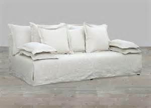 7 quot namur herringbone ivory bellevue s sofa slipcover