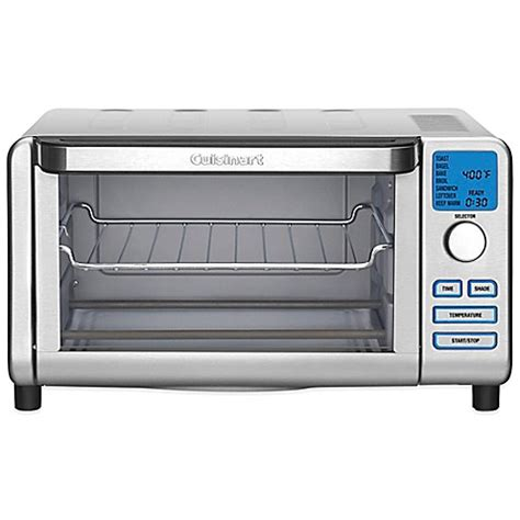 toaster bed bath and beyond cuisinart 174 compact digital toaster oven broiler bed bath