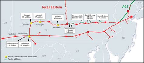 texas eastern pipeline map texas eastern pipeline map my