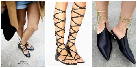 summer shoe obsession lace up flats the fashion tag