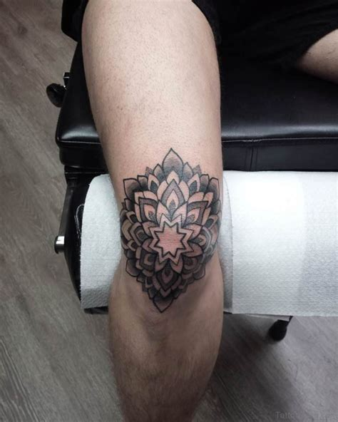 tattoo on knee 41 stylish mandala tattoos on leg