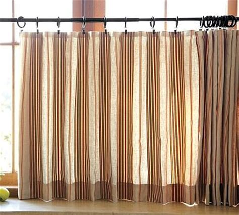 Pottery Barn Kitchen Curtains Cafe Curtains Pottery Barn Curtain Menzilperde Net
