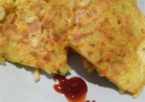 resep omelet makaroni oleh anastasia citra purwani cookpad