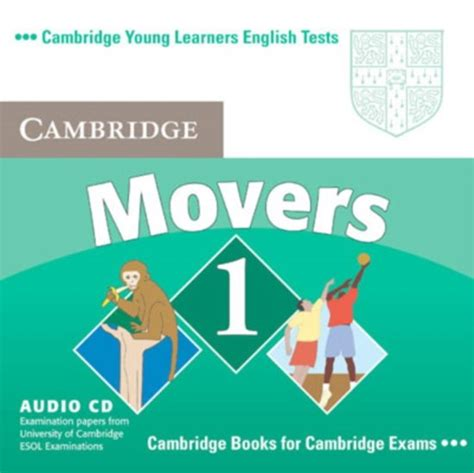 bol com cambridge young learners english tests movers 1 audio cd cambridge esol 978052169343