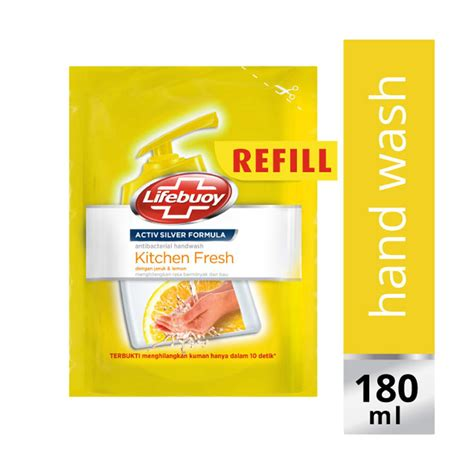 Sabun Fresh jual lifebuoy kitchen fresh refill sabun cuci tangan 180