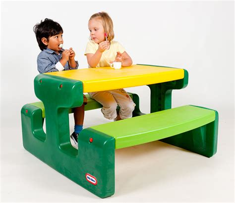 little tikes picnic table red large picnic table evergreen little tikes