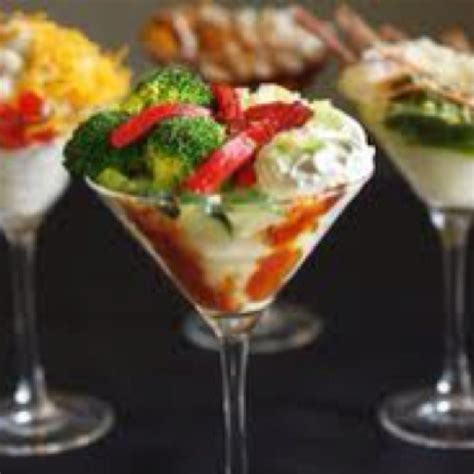 mashed potato martini bar toppings mashed potato martini bar bar ideas pinterest
