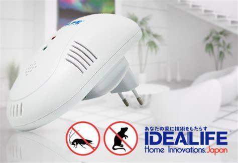 Anti Nyamuk Bug Scare Ultrasonic Rat Pest Repeller 1 alat pengusir tikus nyamuk dan kecoa ultrasonic elektrik idealife il 300