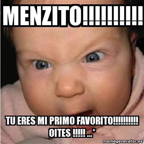 imagenes memes para niños meme bebe furioso menzito tu eres mi primo