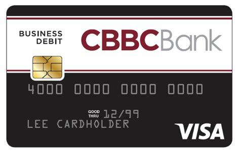 Business Debit Card business debit cards cbbc bank