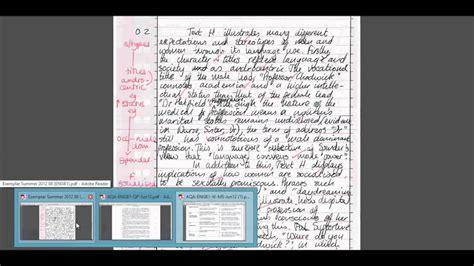 statistics section 2 part b question 6 aqa english language b unit 1 language and gender model
