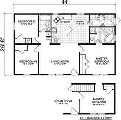 House Plans With Basement 24 X 44 1000 Images About Cabin Plans On Pinterest Floor Plans
