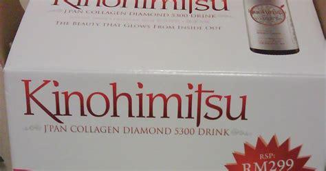 Collagen Kinohimitsu Untuk Lelaki sukadukakehidupan kinohimitsu japan collagen 5300