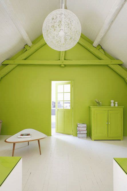 bright green accent wall green accent walls interior