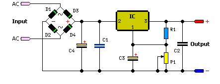 Power Supy 5v 5a Murah Kecil 1 5 3 5 volt rangkaian power supply dc skema rangkaian