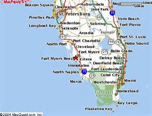 map of florida southwest coast south west florida map