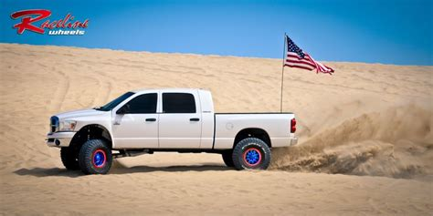 4wheelin Dodge Ram competition beadlock wheels a collection of cars and