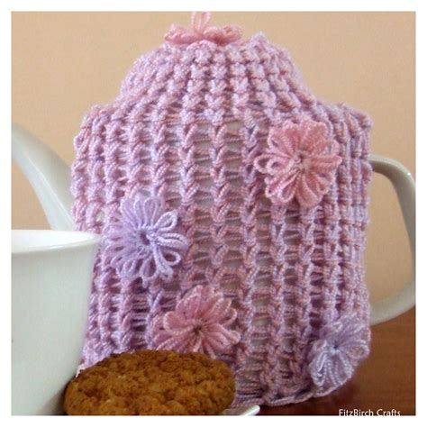 knitting loom fitzbirch crafts loom knit tea cosy