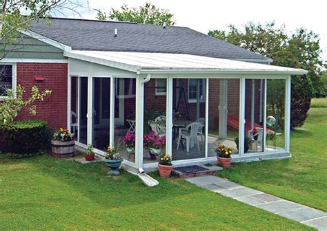 backyard sunroom sunroom kit easyroom diy sunrooms patio enclosures backyard pinterest