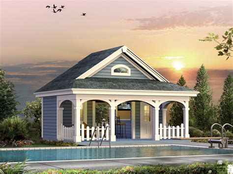 pool guest house plans cabana house plans over 5000 house plans