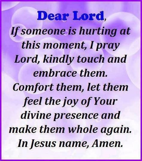 a prayer of healing and comfort prayer of healing something to say pinterest