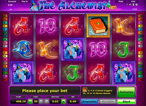 alchemist slot play  slots