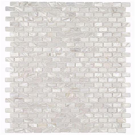brick pattern mosaic tile splashback tile mother of pearl mini brick pattern 11 1 4