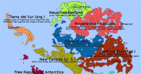 maps  tables   scenarios thawed antarctica