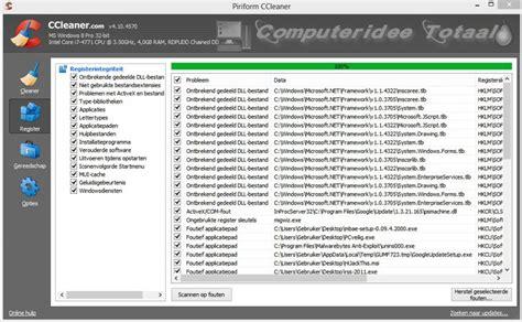 ccleaner registration ccleaner gratis downloaden en gebruiken