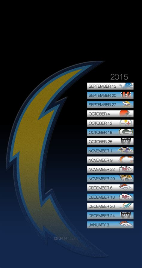 chargers schedule for 2015 chargers schedule 2015
