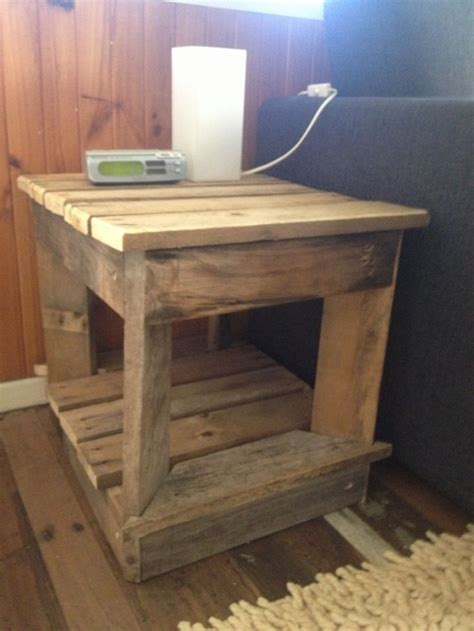 bedside table ideas recycled pallet bedside tables pallet ideas recycled