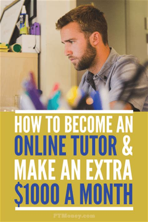 How To Make Money Tutoring Online - how to become a online tutor making 1 000 mo pt money