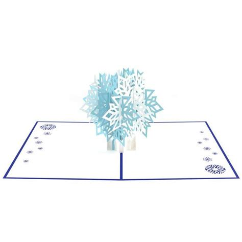 snowflake pop up card template 3d winter snowflake pop up card lovepop