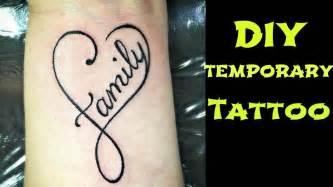diy temporary tattoowaterproof    tattoo  home youtube