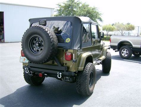 buy used 1989 jeep wrangler yj with small block chevy in