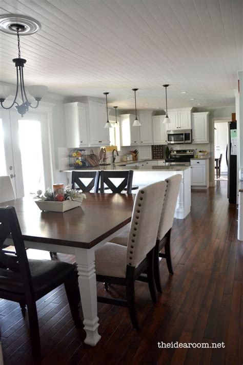 Connecting Dining Room And Kitchen Kitchen Tour Updated Room Kitchen Table And Chairs And