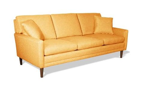 retro style couch new colorful furniture finds to brighten your home
