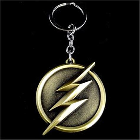 Key Chain Logo The Flash Dc Comics Diecast Metal the gallery for gt the flash logo