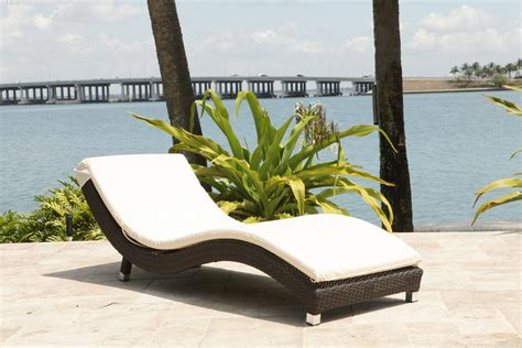 wicker outdoor chaise source outdoor wave 2 piece wicker chaise lounge set