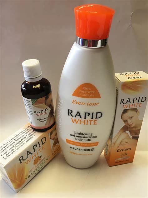 rapid white skin whitening lightening lotion 400ml soap serum 60ml 30g true cosmetics