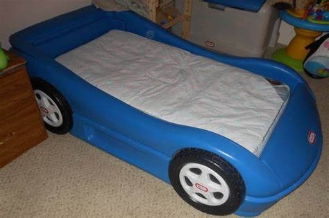 blue race car toddler bed fisher price blue car bed for sale