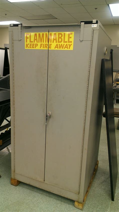Used Flammable Cabinet by New Used Liquid Flammable Safety Cabinets