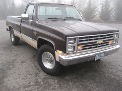 purchase used 1985 chevrolet chevy silverado c 20 454 3 4