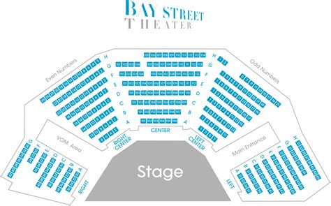 st theater seating plan tickets baystreet theater