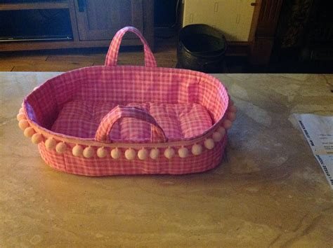pattern  baby doll moses basket fabric bed english  southern stitching baby