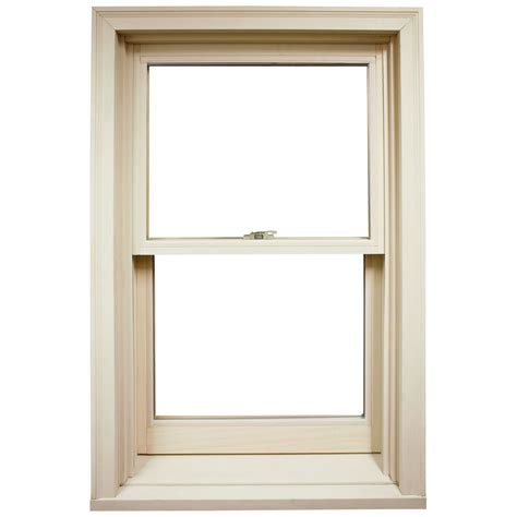 shop ply gem windows 34 5 in x 57 625 in 4100 series wood