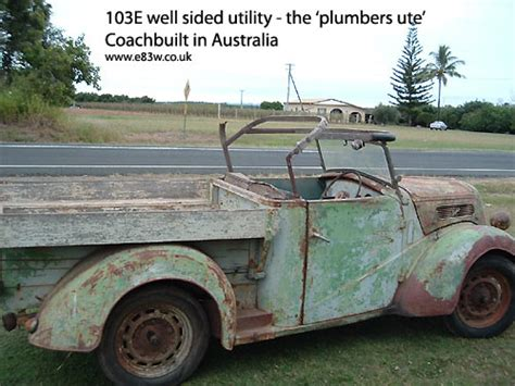 Plumbing In Australia For Uk Citizens by Ford 103e Plumbers Ute