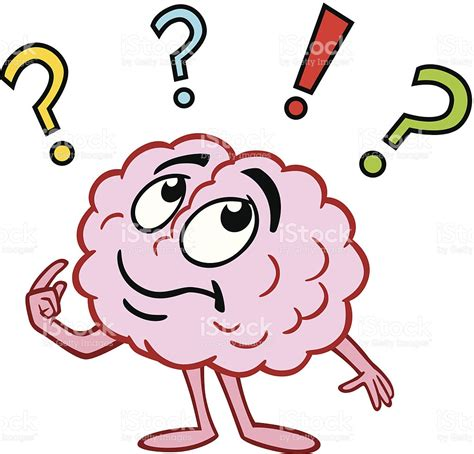 brain clipart question mark clipart brain pencil and in color question