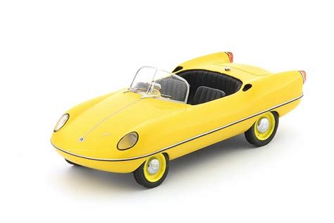 misc 143 diecast and resin models buckle dart in yellow in 1 43 scale by autocult resin